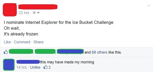internet internet explorer ice bucket challenge failbook g rated