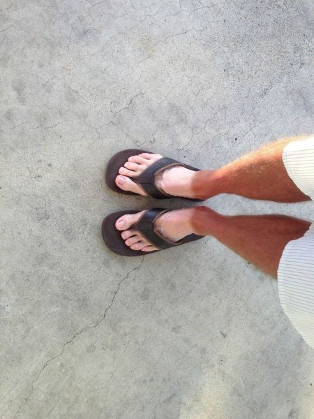 tan poorly dressed sandals tan lines