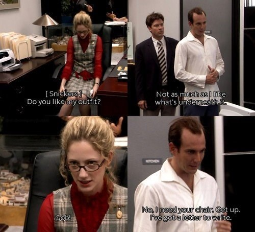 arrested development,funny,GOB,pickup lines
