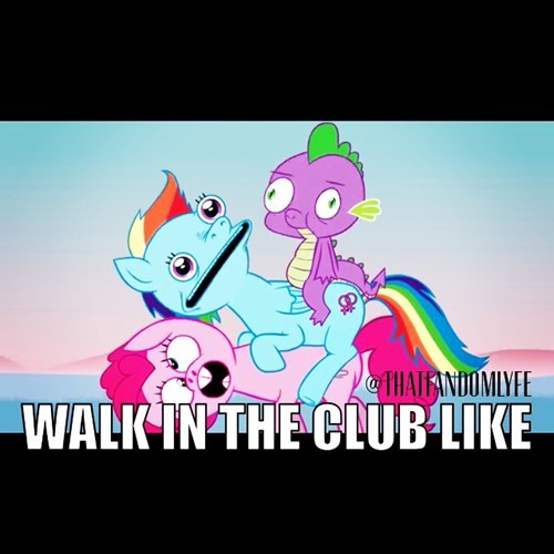 derp,pinkie pie,rainbow dash,spike