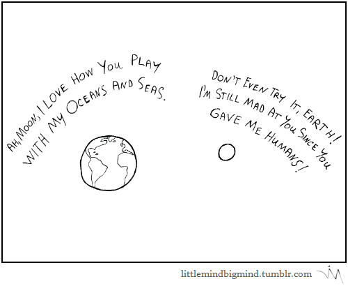 earth moon sad but true love web comics - 8306391552