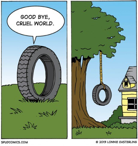 sad but true tires web comics - 8306470912
