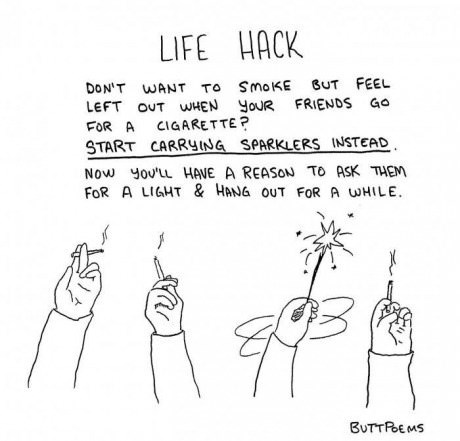 smoking,sparklers,web comics,life hacks