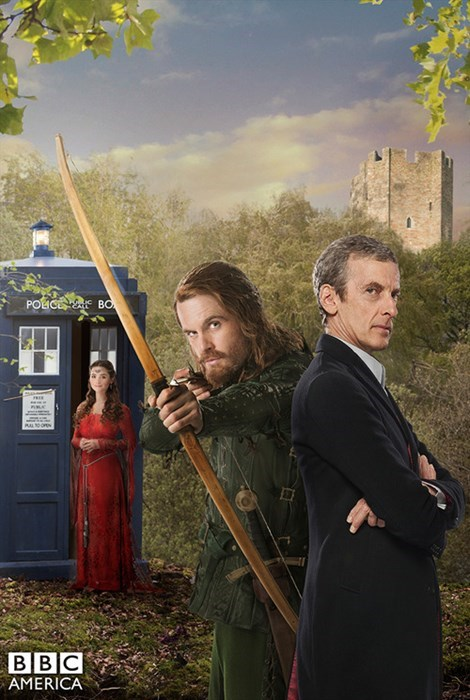 12th Doctor poster robin hood clara oswin oswald - 8306512640