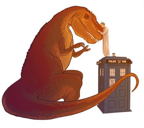 12th Doctor dinosaurs Fan Art - 8306516736