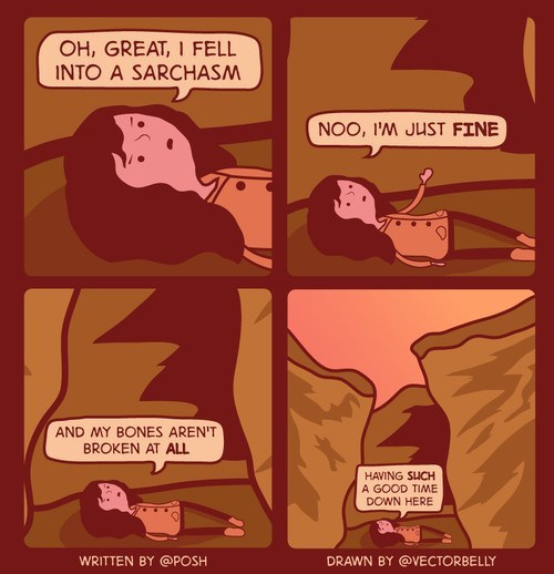 chasm fall sarcasm web comics - 8306578944
