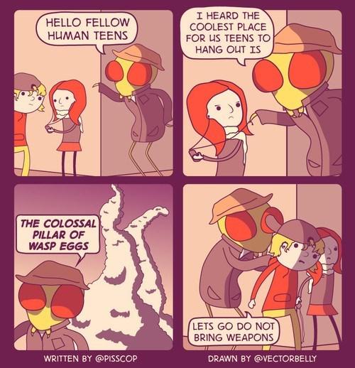 teens web comics wasps - 8306582016