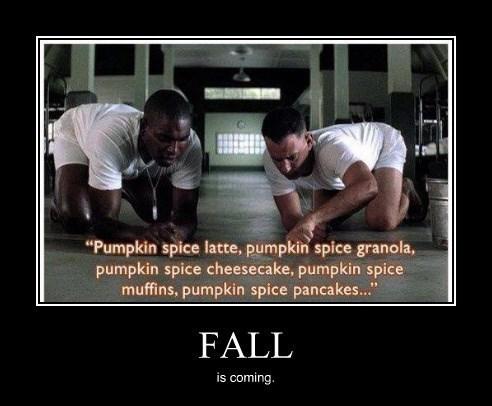 forest gump fall funny pumpkins - 8306606592