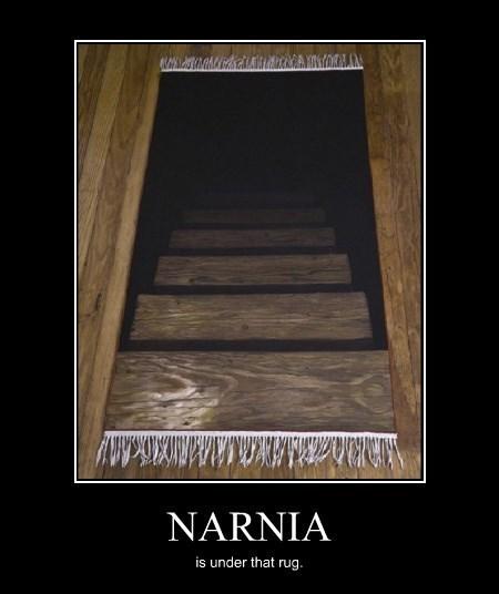 funny hiding rug narnia - 8306608128