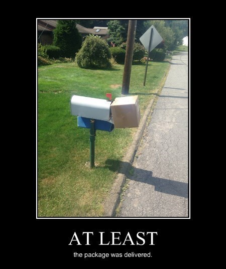 funny package post office wtf - 8306608640