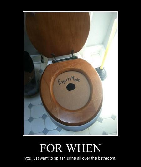 funny expert pee toilet - 8306609920