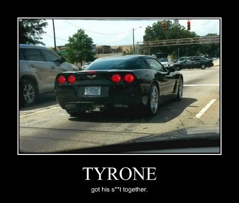 cars funny license plate tyrone - 8306610176