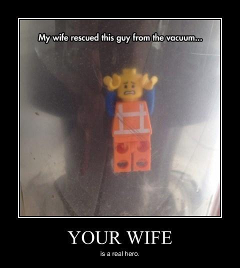 lego funny wife vacuum - 8306610432