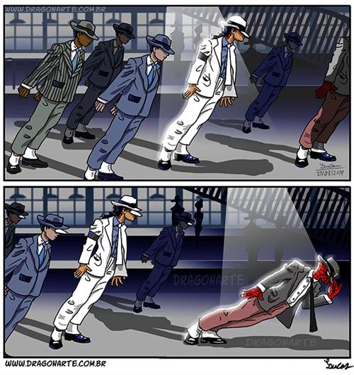 michael jackson Spider-Man web comics - 8306621952