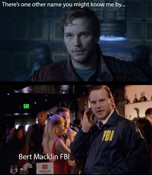 chris pratt parks and recreation star-lord - 8306692864