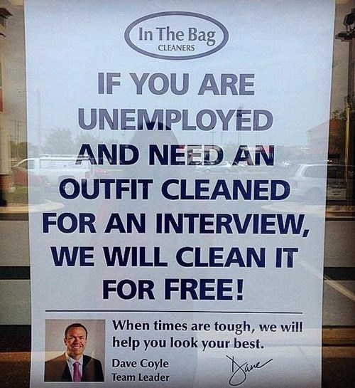 dry cleaning,monday thru friday,job hunt,g rated