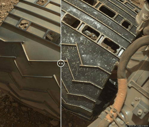 curiosity rover science Mars - 8306750208