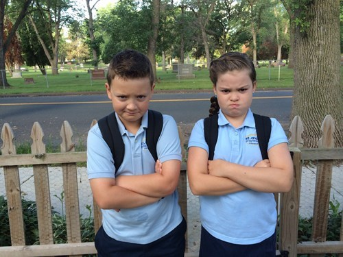 angry back to school kids funny - 8306788864
