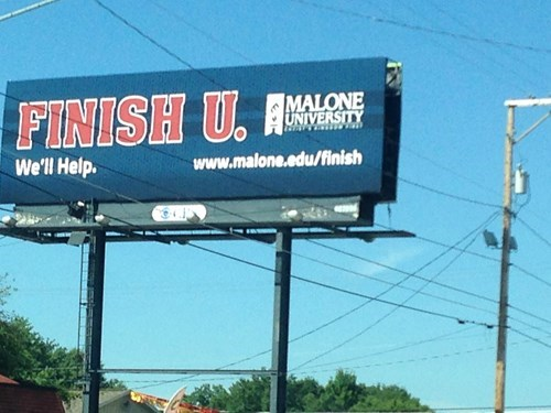 finish him funny sign wtf university - 8306798592