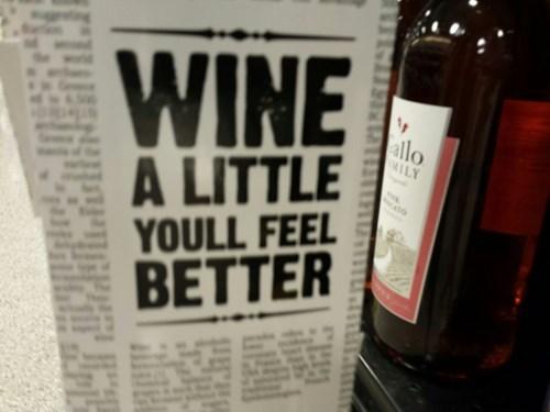 drunk funny puns wine - 8306829312