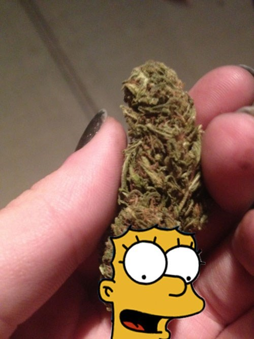 funny,marge simpson,the simpsons,weed