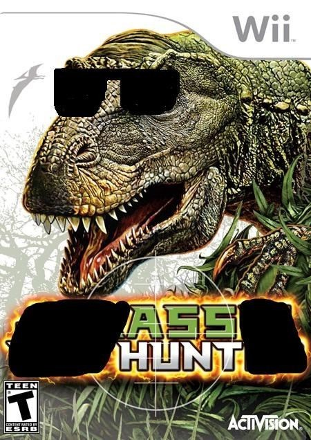 nintendo dat ass wii ass hunt - 8306861568