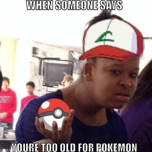 double slap Never Too Old Pokémon - 8306862848