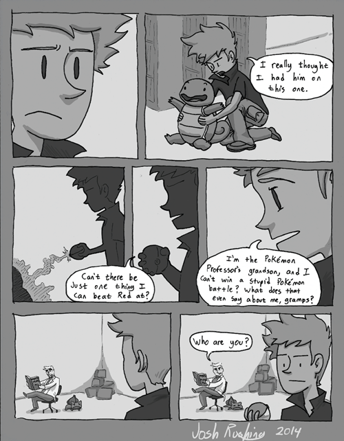 professor oak Pokémon Sad web comics - 8306865152