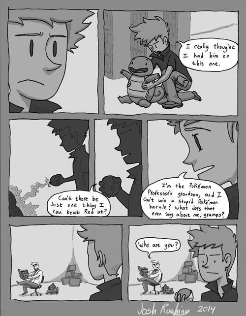 professor oak Pokémon Sad web comics - 8306865152