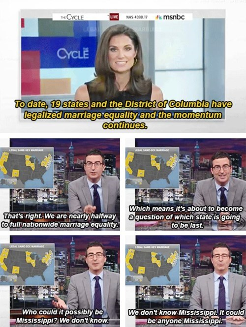 equality,funny,gay marriage,john oliver