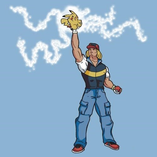 crossover,Pokémon,he man
