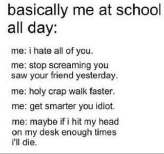 all day high school funny idiots School of FAIL - 8306943232
