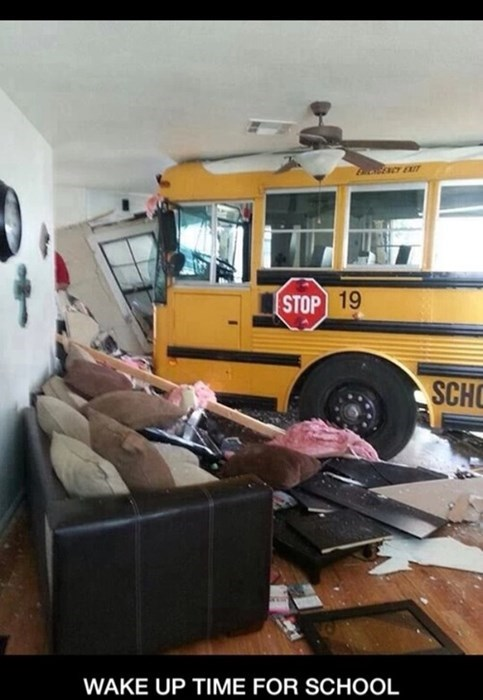 funny school bus wtf g rated School of FAIL - 8306949632