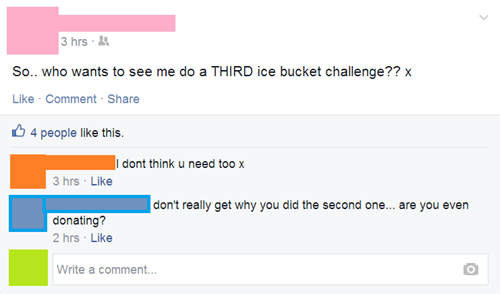 facebook,ice bucket challenge