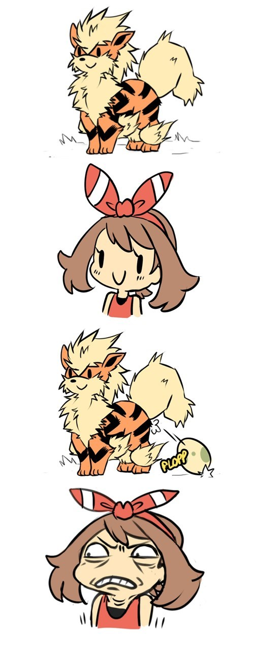 Pokémon may eggs arcanine