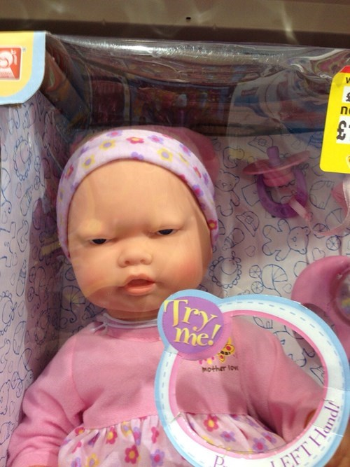 baby toys expression doll parenting