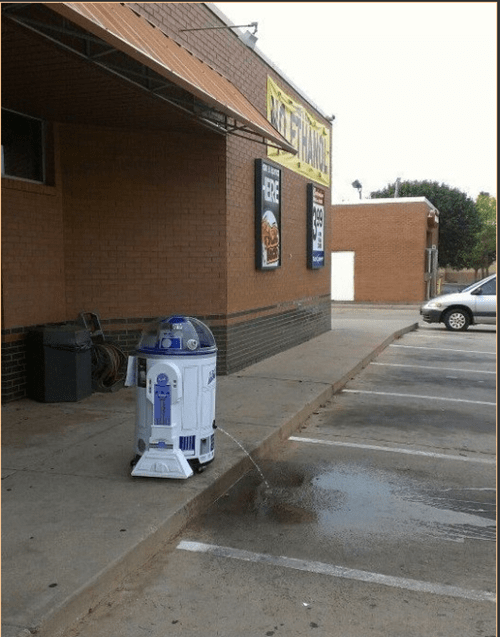 r2d2,star wars,pee,funny,after 12,g rated