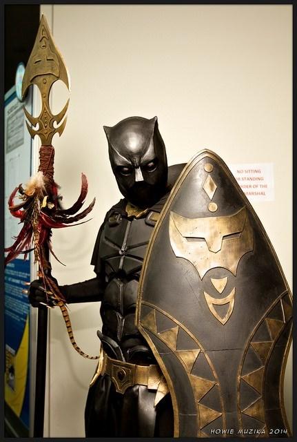marvel cosplay black panther - 8307639808