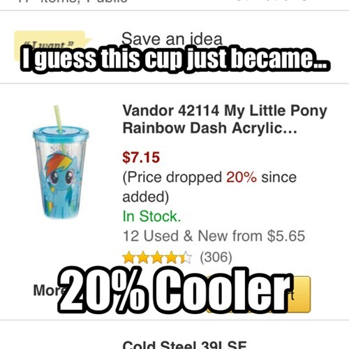 cups 20-cooler rainbow dash - 8307683840