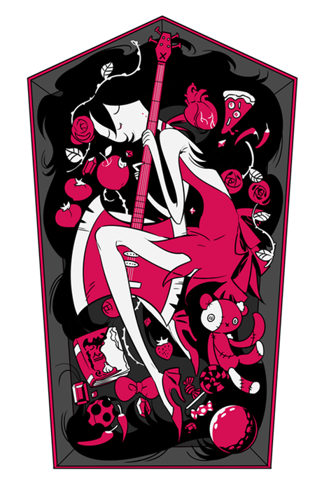 Fan Art cartoons marceline the vampire queen adventure time - 8307702272