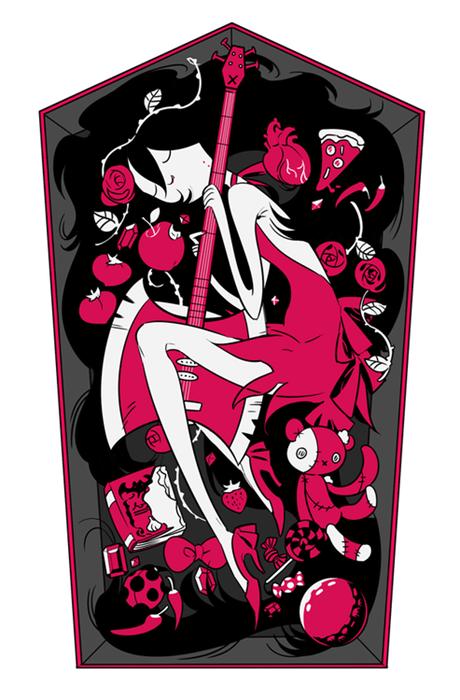 Fan Art cartoons marceline the vampire queen adventure time - 8307702272