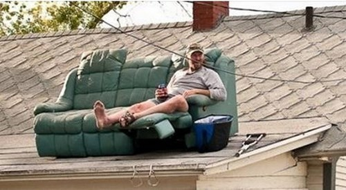 couch redneck DIY there I fixed it - 8307742464