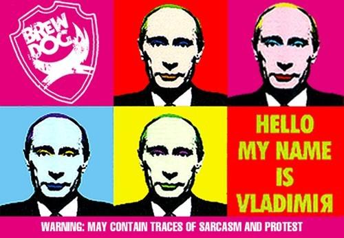 beer brewdog funny Vladimir Putin - 8307752960