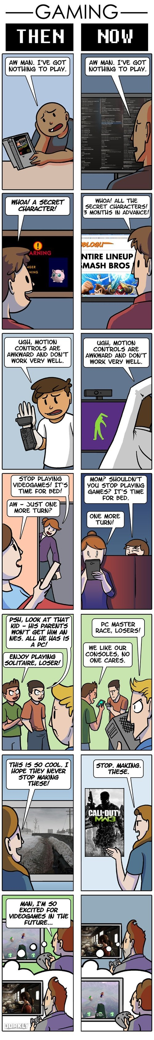 dorkly,gaming,nostalgia,gamers,web comics