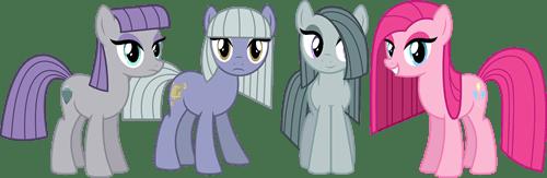 Fan Art sisters pinkie pie maud pie - 8307776768