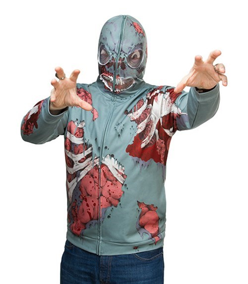 poorly dressed hoodie zombie ThinkGeek g rated - 8307806208