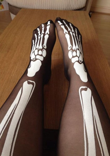 bones tights poorly dressed skeleton - 8307854080