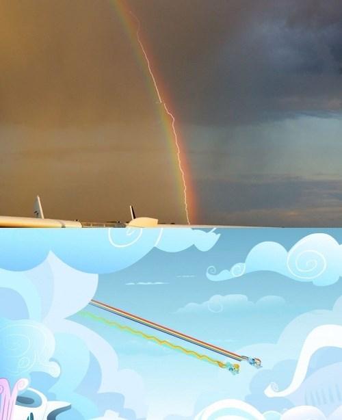 spitfire lightning rainbow rainbow dash - 8308083200