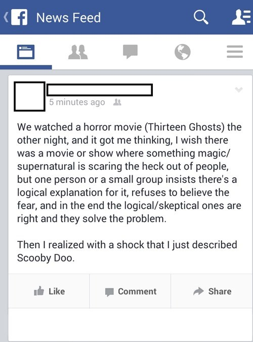 horror scooby doo ghosts science