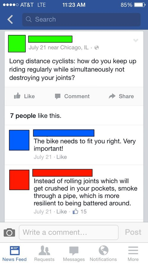 drugs marijuana puns bike failbook g rated - 8308696064